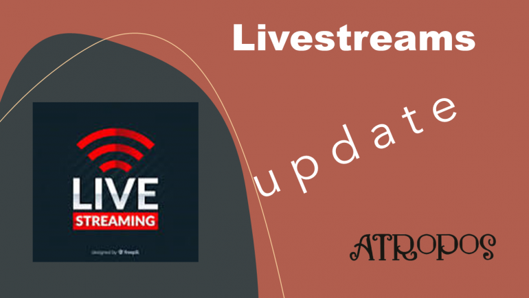 Livestream update